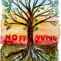 381102 Hoffnungsbaum * Tree of Hope