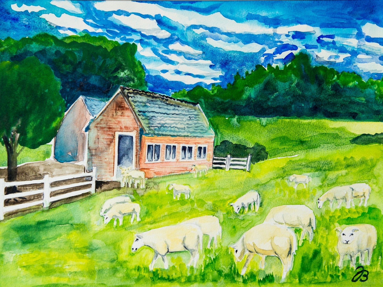 530901  Schaffarm * Sheep Farm
