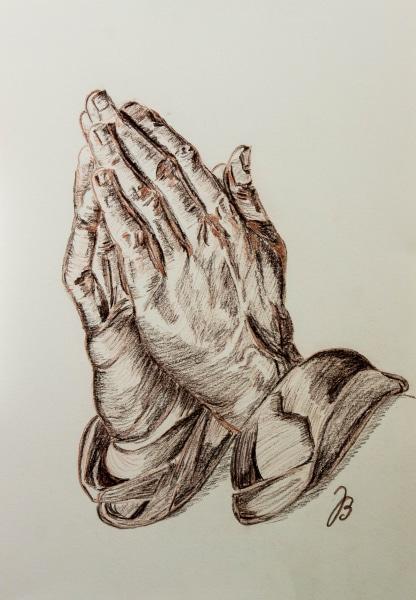 540126  Betende Hände * Praying Hands