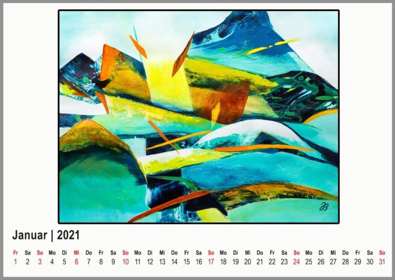 Kalenderblatt 2021