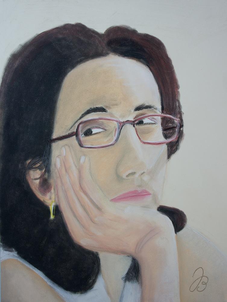 Ana von JKPP – Pastell Portrait