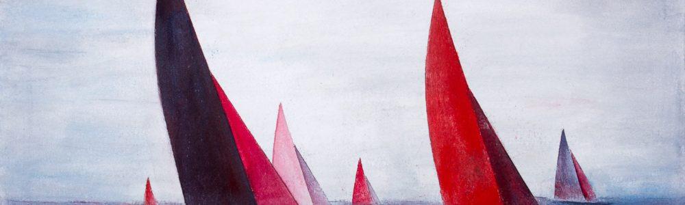 580605 Rote Segler * Red Sailers