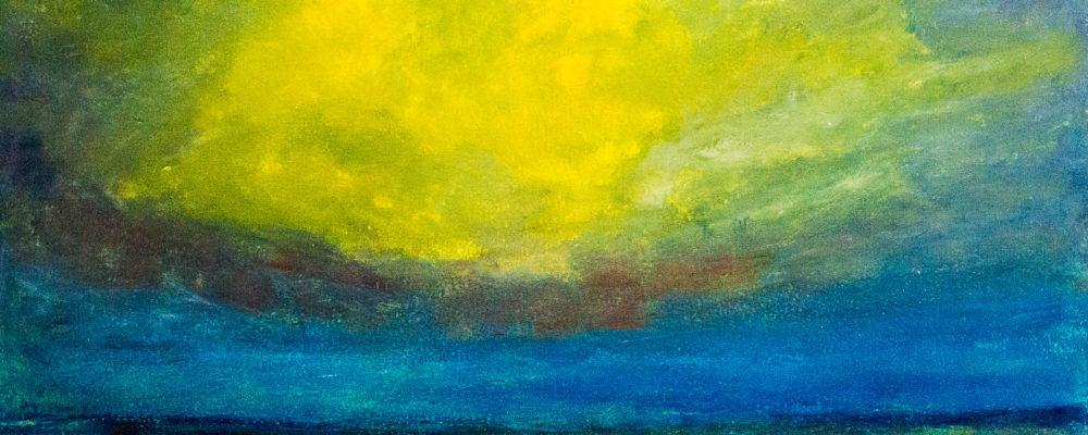 580801 Gewitterwolke * Thunder cloud (Horizont Serie)