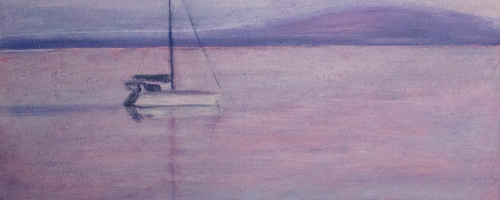 580903 Lila Sonnenuntergang * Lilac Sunset