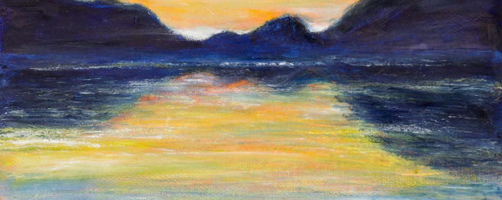 590606 Sonnenuntergang * Sunset Strobl