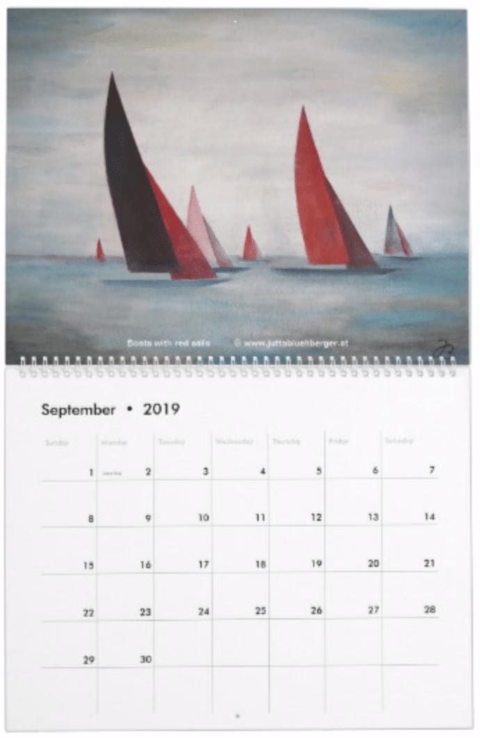 Calendar 2019-09