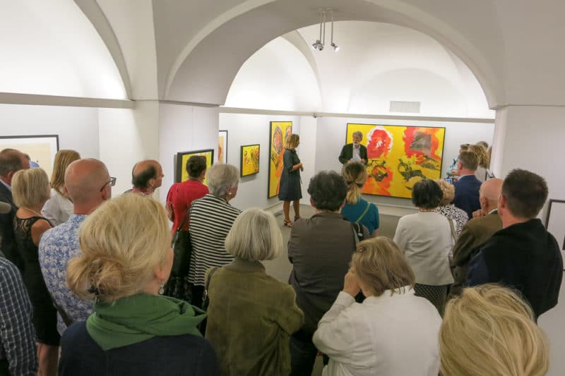 Opening of the exhibition Josef Mikl