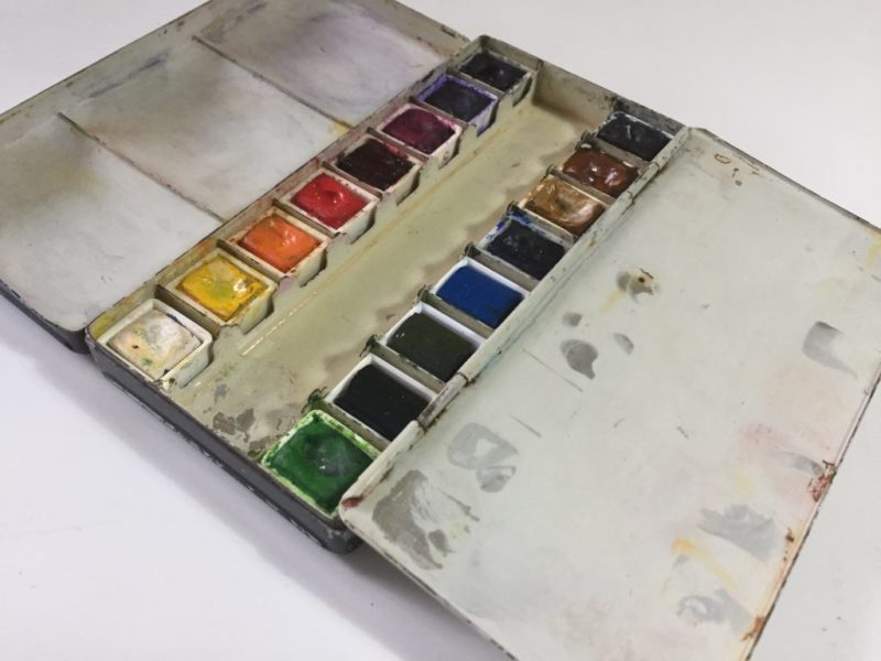 Opa's paint box