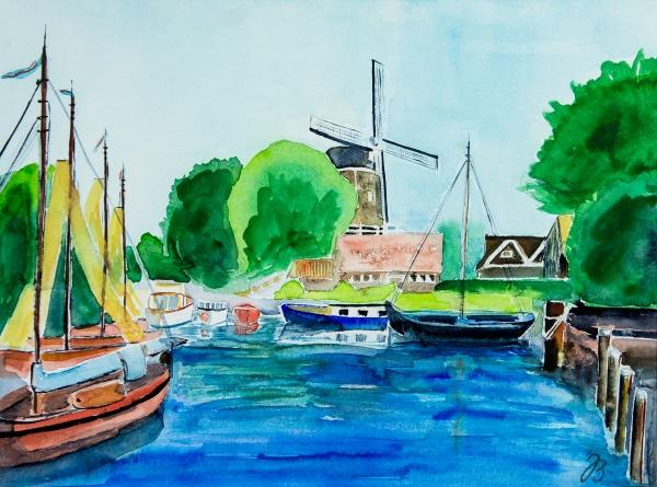 Holländischer Hafen