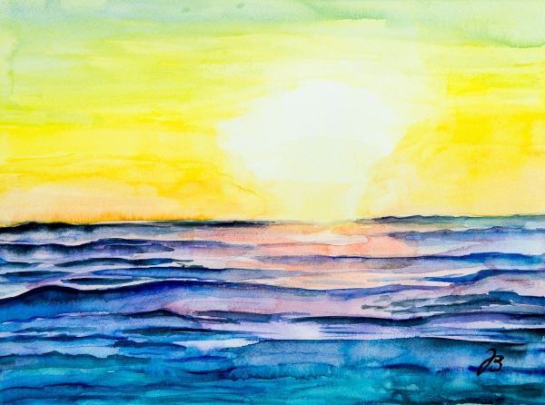 Sunset in Half Moon Bay, CA